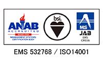 環境マネジメントシステム/ISO14001認証