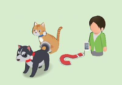 ペットの位置検知