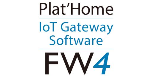 Plat'Home IoT Gateway Software FW4